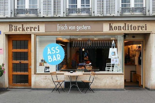 In der Äss-Bar in Basel bekommt das Brot eine zweite Chance
