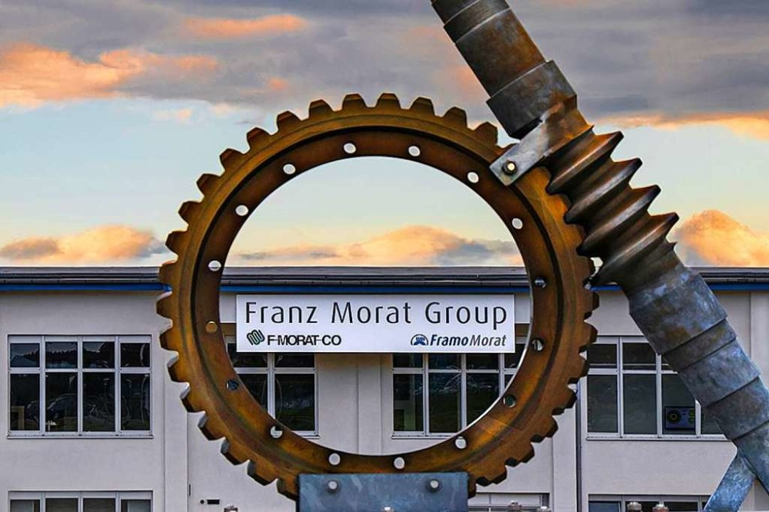 Die Franz Morat Group in Eisenbach lie...Krisenansätze vorsichtig optimistisch.  | Foto: (c) Gerd Lache