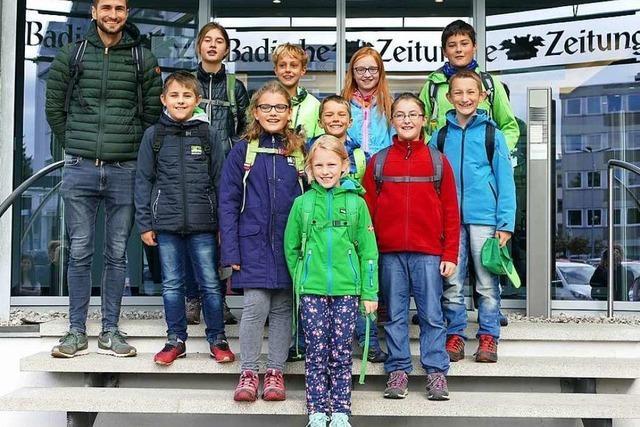 Zisch-Klassen bei der BZ: Herbstprojekt 2019