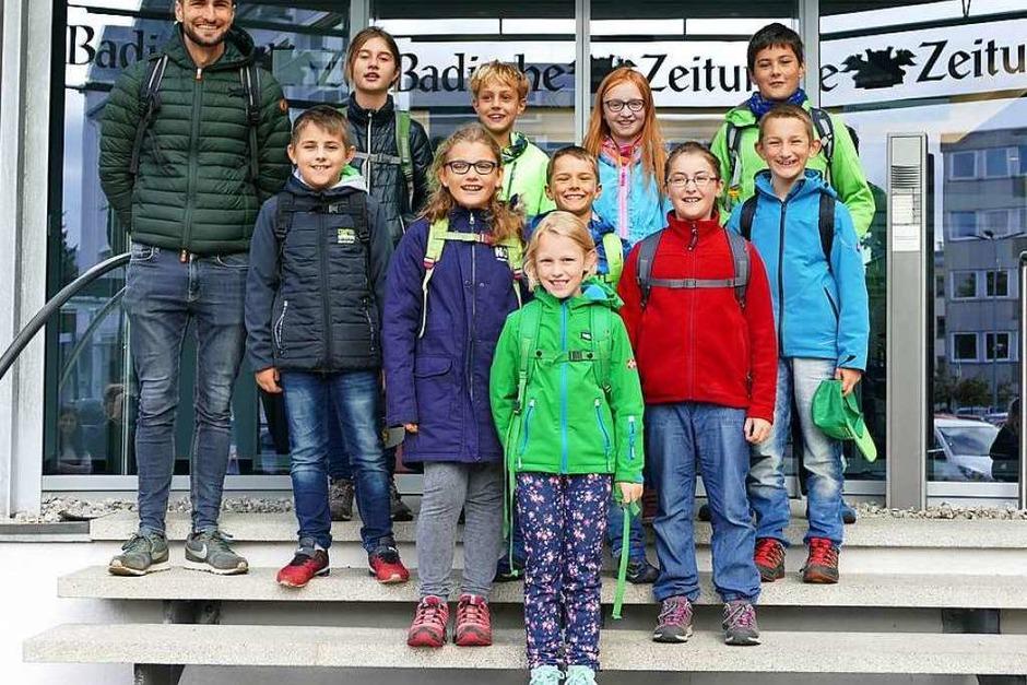 Klasse 4, Grundschule Bachheim-Unadingen, Löffingen (Foto: Tilman Czakert)