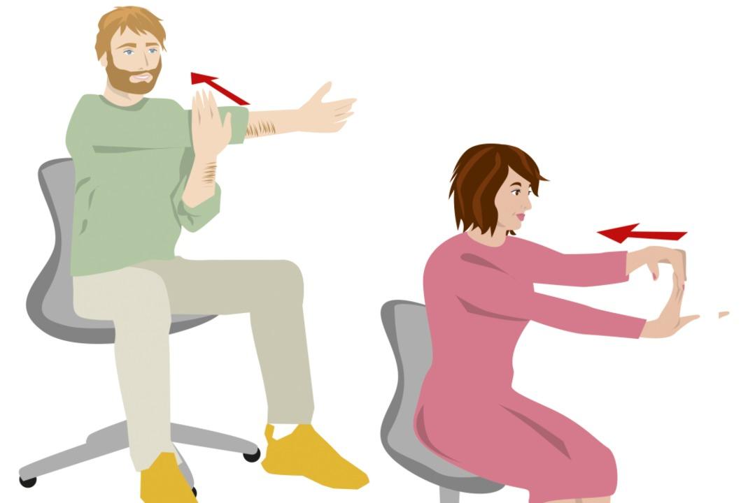 Gerade Leute mit Sitzjobs sollten sich...en – nur für ein paar Minuten.      Foto: Karo Schrey