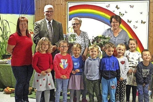 Zwei Institutionen des Prechtaler Kindergartens
