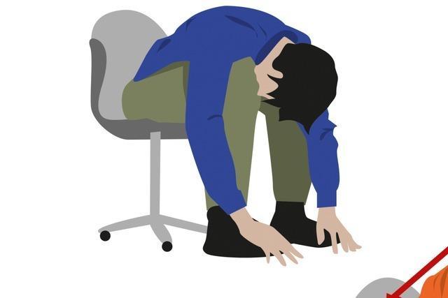 Übungen für kurze Pausen am Arbeitsplatz