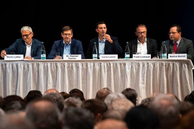 Video: Das war der BZ-Kandidatentalk zur Bürgermeisterwahl in Müllheim