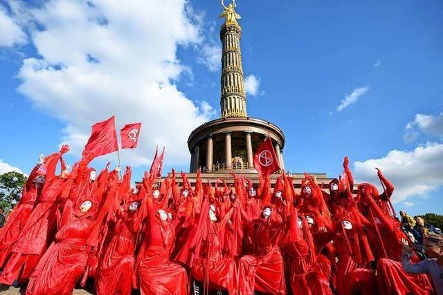 Wie Extinction Rebellion Berlin blockieren wollte