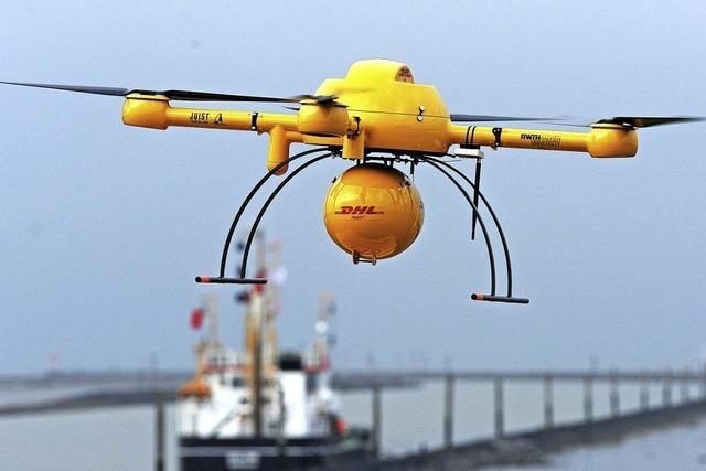 Lieferung per Drohne bleibt Einzelfall
