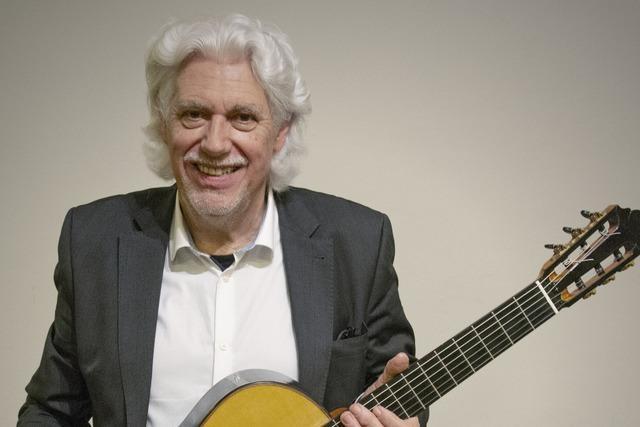 Gitarrenvirtuose Hubert Käppel: