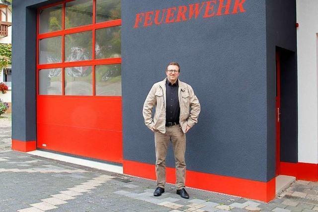 Ortsrundgang durch Badenweiler mit Bürgermeisterkandidat Uwe Sauer