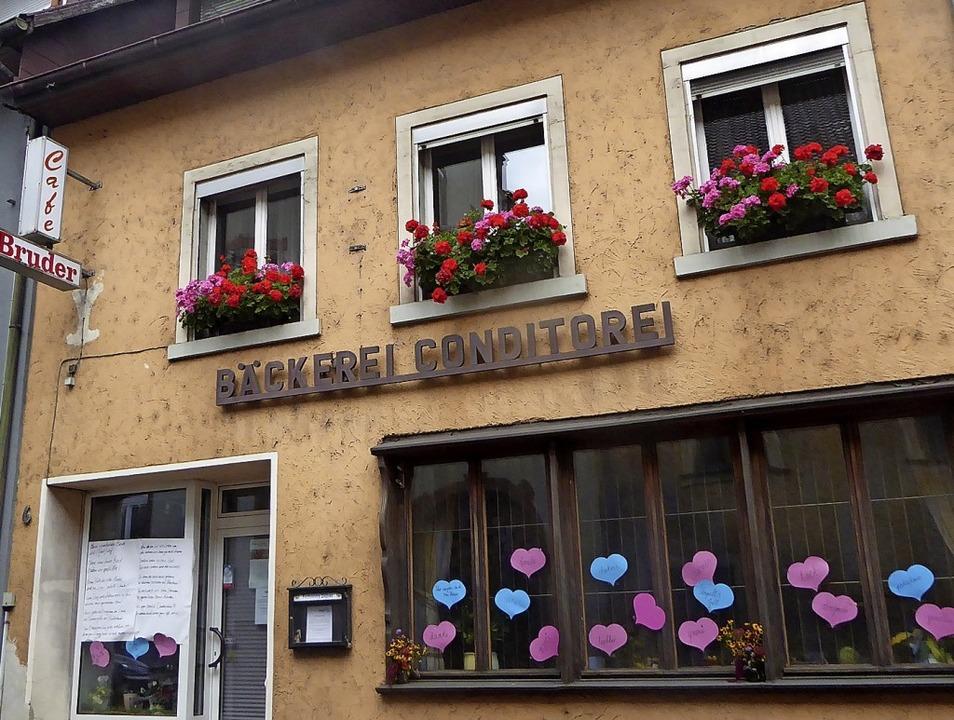 Die Bäckerei Bruder in Stühlingen hat seit vergangenem Dienstag geschlossen.     Foto: suedkurier