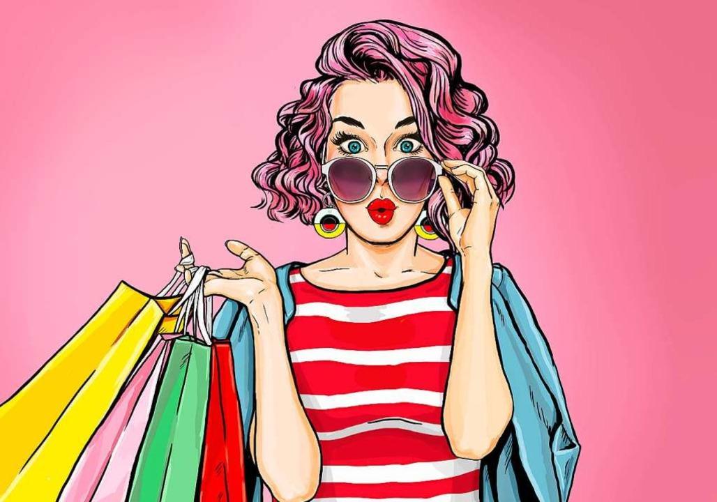 So geht Konsum: Wir brauchen wenig und kaufen viel.  | Foto: lucky1984 - stock.adobe.com
