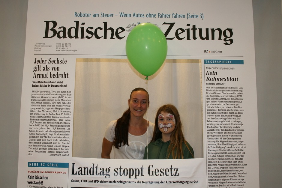 Angela S. (Foto: Badische Zeitung)