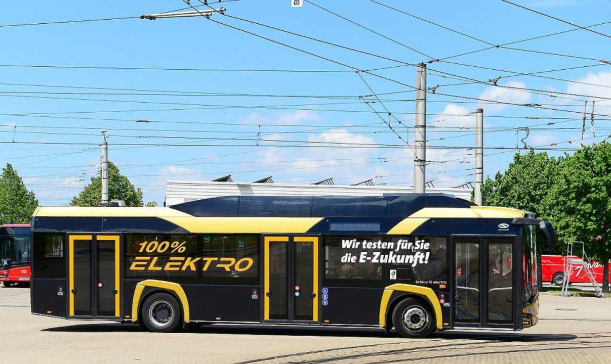 Ende November erwartet die VAG ihre zw...ise auf der Linie 27 verkehren sollen.  | Foto: Ingo Schneider