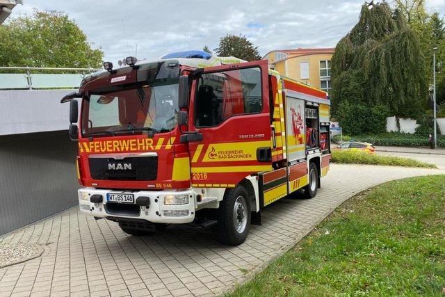 Feuerwehr muss zu Elektrobrand ausrücken