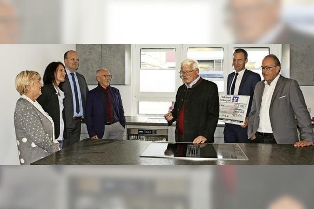 21 500 Euro Spenden für Therapieküche