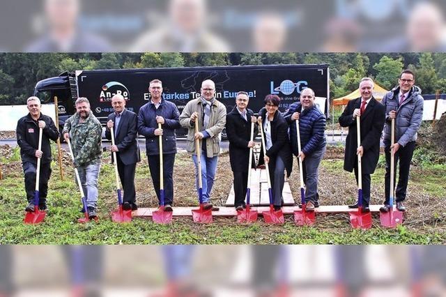 Baustart für Stühlinger Lastwagenfahrer-Motel