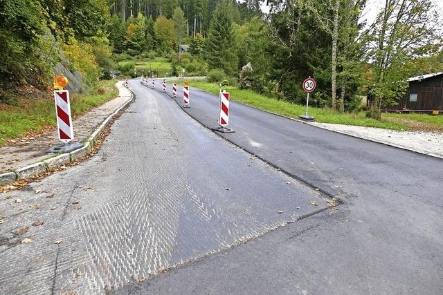 Sanierung der L 170 ist nahezu abgeschlossen