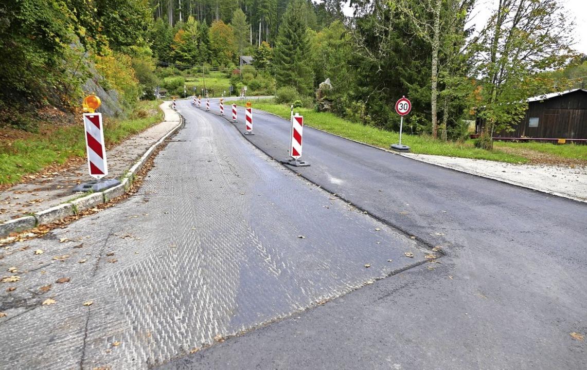 Vom Abzweig nach Öttiswald bis zum Gas...ollsperrung ist nicht mehr notwendig.   | Foto: Juliane Kühnemund