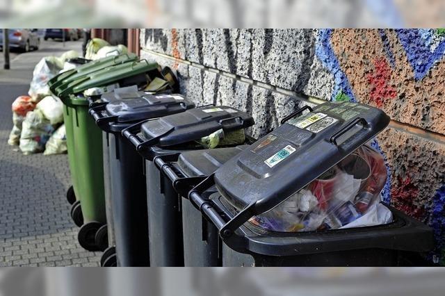 Müllgebühren steigen wie erwartet