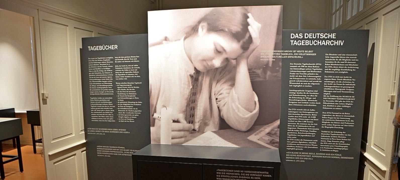 Die  Ausstellung im DTA-Museum öffnet im Februar wieder.    Foto: Gerhard Walser