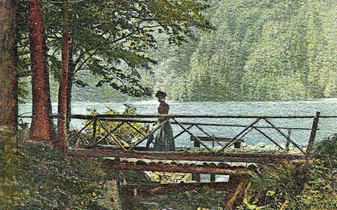 Der Feldsee als Motiv, verschickt 1910  | Foto: privat