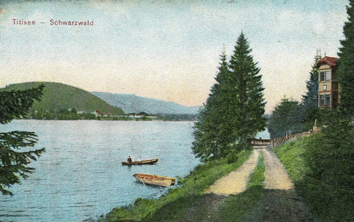 Der Rundweg am Titisee, 1905  | Foto: privat