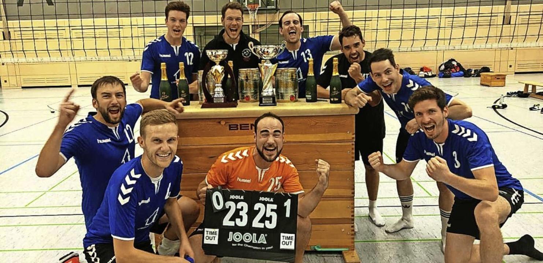 1. Volleyball-Herren-Mannschaft holte den Schlossberg-Cup   | Foto: Verein