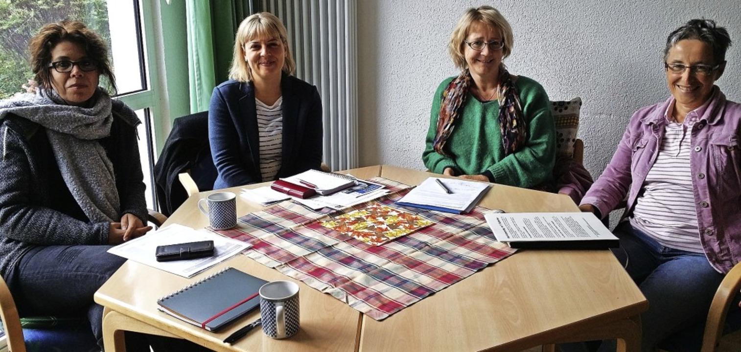 Runder Tisch der Schopfheimer Mitveran...n),  Dagmar Stettner  (Seniorenbüro).   | Foto: Petra Lange