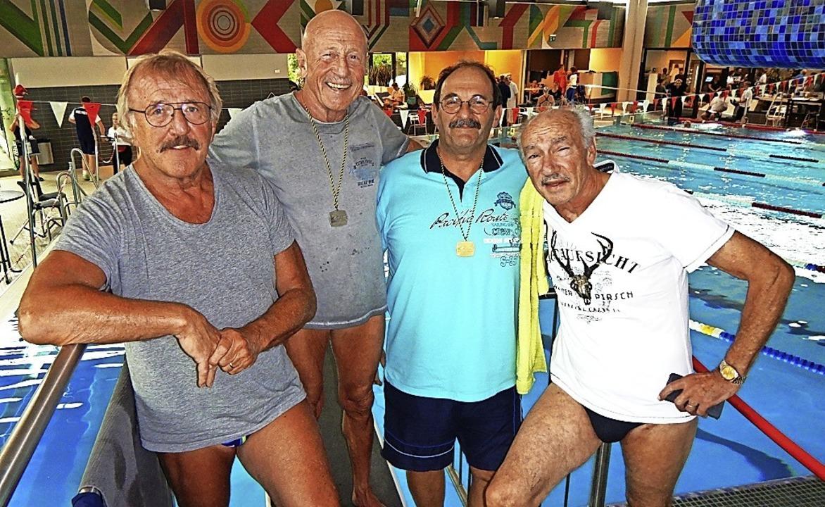 <BZ-FotoAnlauf>TSG Schwimmer:</BZ-Foto...) sorgten für Medaillen in Böblingen.     Foto: TSG Schopfheim Schwimmen