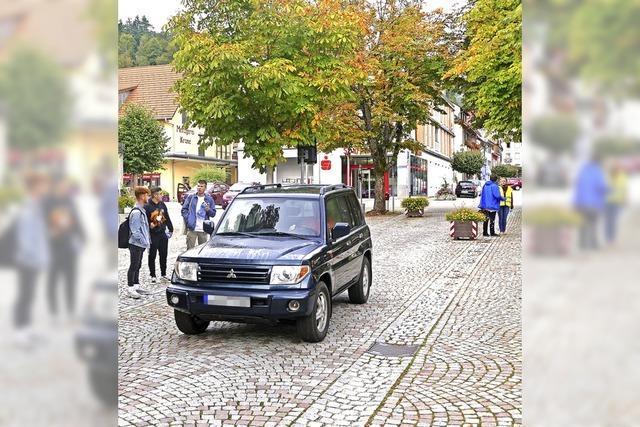 In Schönau wird eine Straße zeitweise gesperrt – und damit zum Pausenhof
