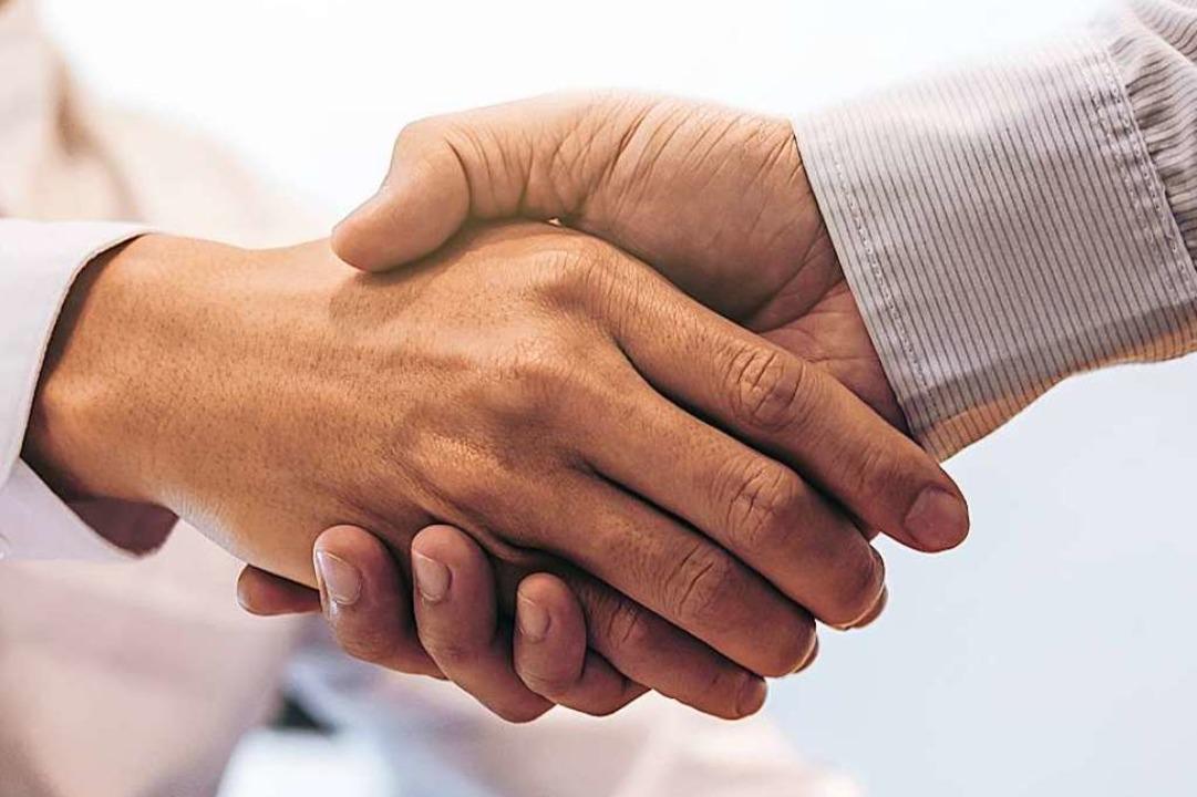 Soll man Kollegen auch dann gratulieren, wenn man sie nicht mag?  | Foto: Freedomz - stock.adobe.com