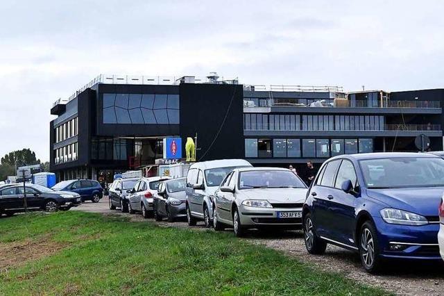 Die Parksituation beim Europäischen Forum am Rhein dürfte sich entspannen