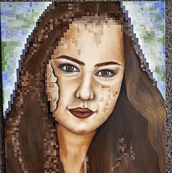 <BZ-FotoAnlauf>Junge Kunst:</BZ-FotoAnlauf> Selbstbild ohne Scheinweltpixel     Foto: Chiara Kilchling
