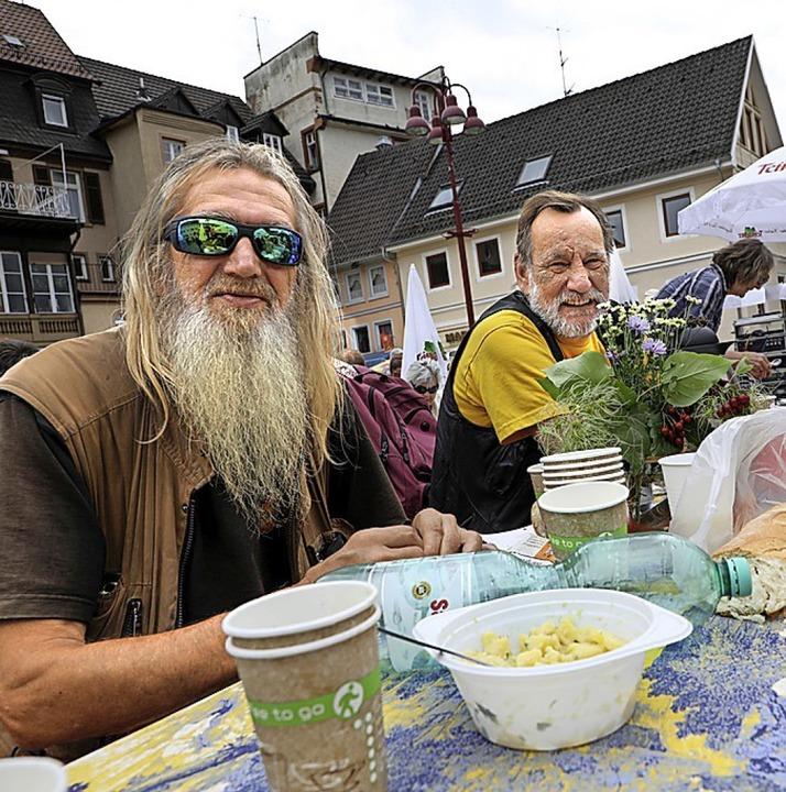 Brunch für Obdachlose in Offenburg  | Foto: Christoph Breithaupt