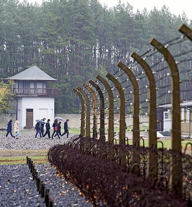 Die Gedenkstätte des Konzentrationslagers Sachsenhausen  | Foto: Soeren Stache (dpa)