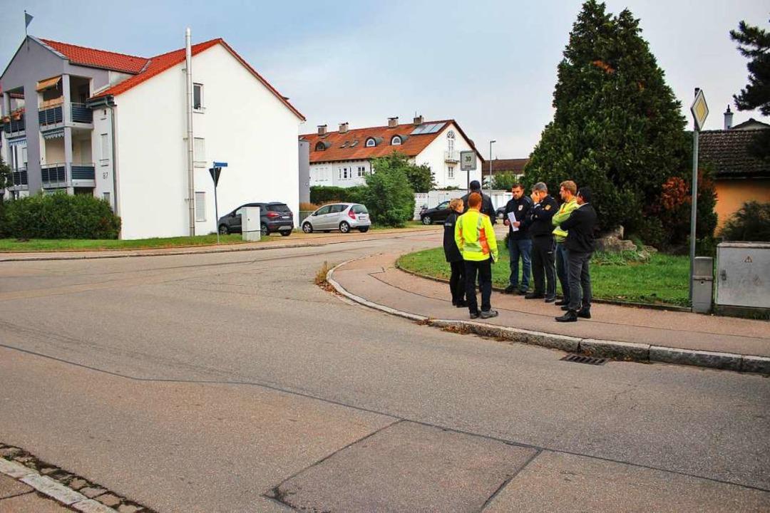 Für diese Kreuzung Am Mattenbachweg/Hi...uppe keinen weiteren Fußgängerüberweg.    Foto: Rolf Reißmann