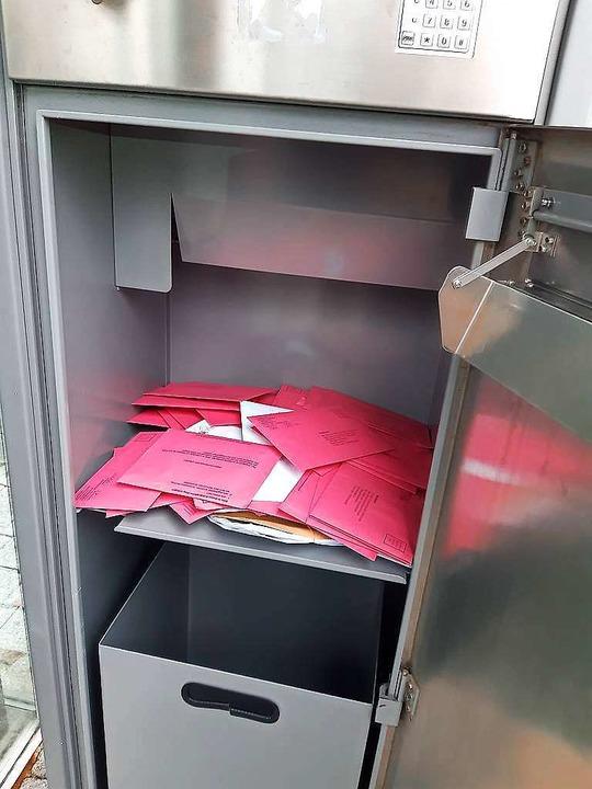 3341 Lahrer haben per Briefwahl abgestimmt.  | Foto: Lena Marie Jörger