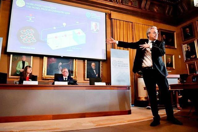 Chemie-Nobelpreis für Entwicklung von Lithium-Ionen-Batterien