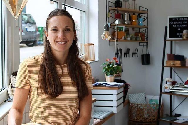 In Lilli's Café in Kirchzarten gibt's auch Produkte aus der Region