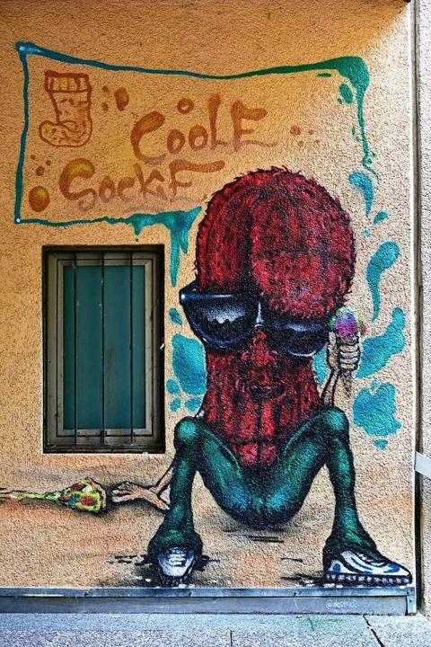 Coole Socke.  | Foto: Thomas Kunz