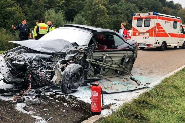 Renault-Fahrerin soll bei Maulburg auf die Gegenfahrbahn geraten sein