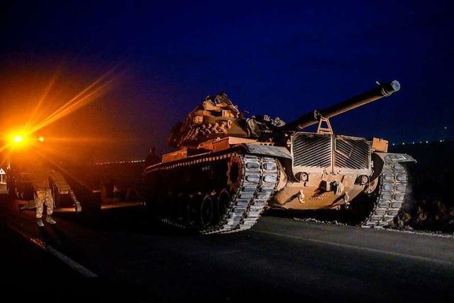 Türkei beginnt Militäroffensive gegen Kurdenmiliz in Nordsyrien