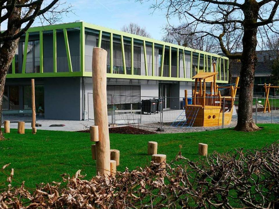 Neu erbaut: der Kindergarten auf dem Rappenstein  | Foto: Winfried Dietsche
