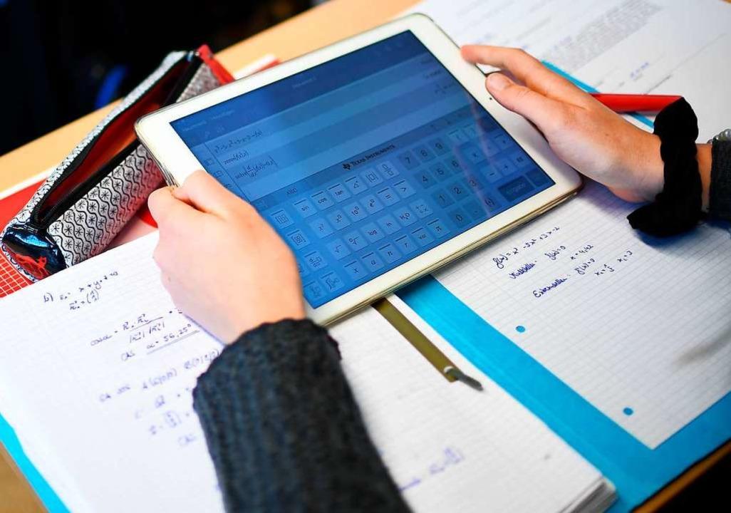 Die Digitalisierung im schulischen Unt... voranschreiten – auch im Kreis.  | Foto: Britta Pedersen