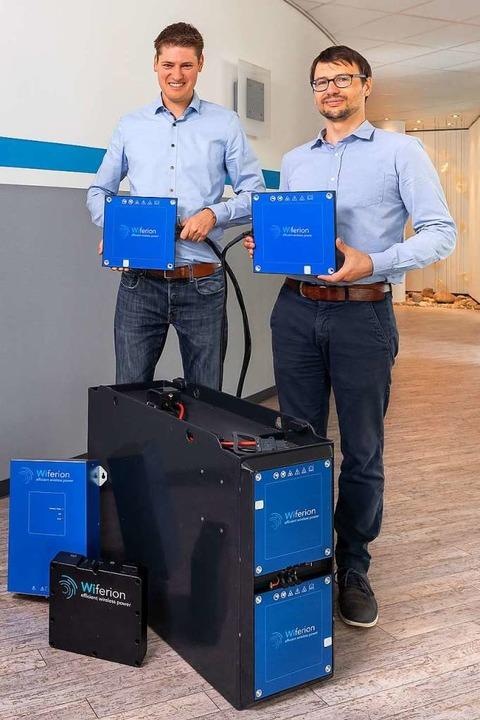 Ein Induktionsladesystem, Lithium-Ione...nd Lösungen für das Energiemanagement   | Foto: Christoph Körner