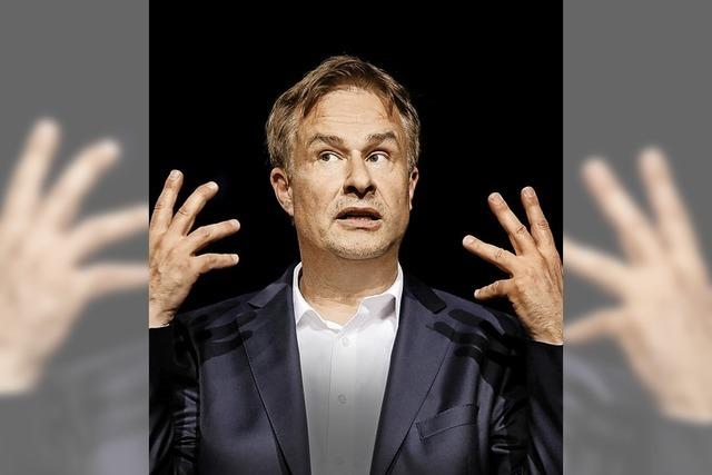 Lars Reichow präsentiert sein politisches Programm
