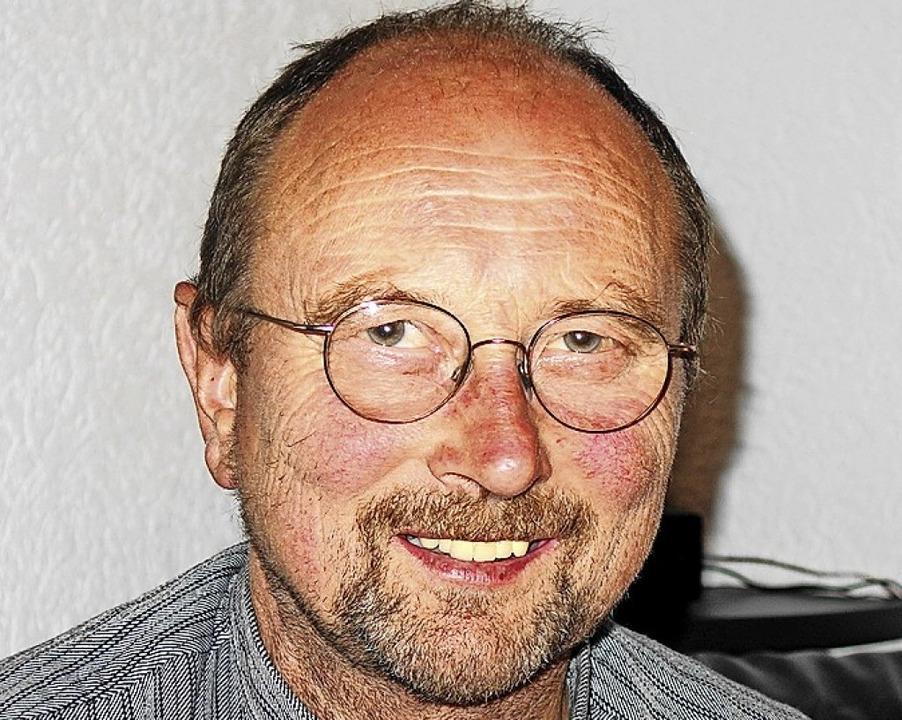 Vorsitzender der Weidegemeinschaft: Heiner Brunner  | Foto: Gudrun Gehr