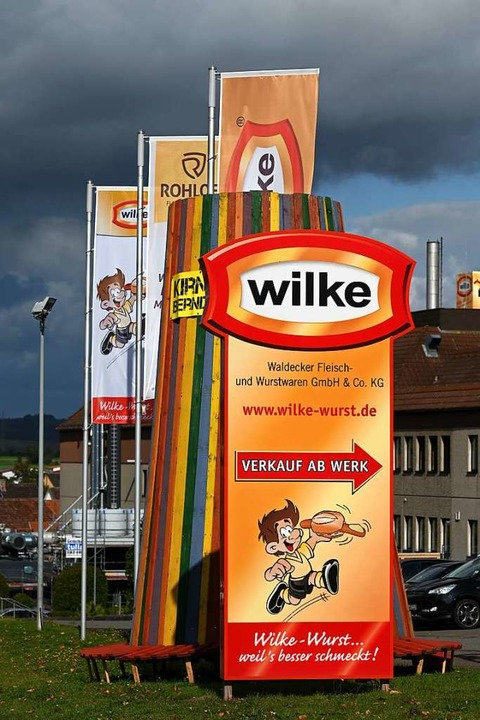 Die Firma Wilke ist seit dem 2. Oktober geschlossen.  | Foto: Uwe Zucchi (dpa)