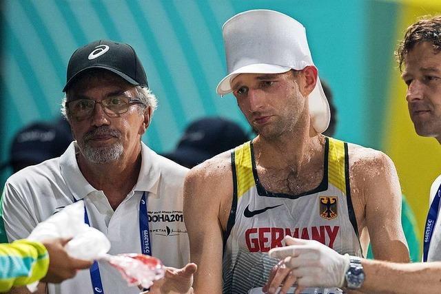 Geher Carl Dohmann nach der Leichtathletik-WM in Doha: