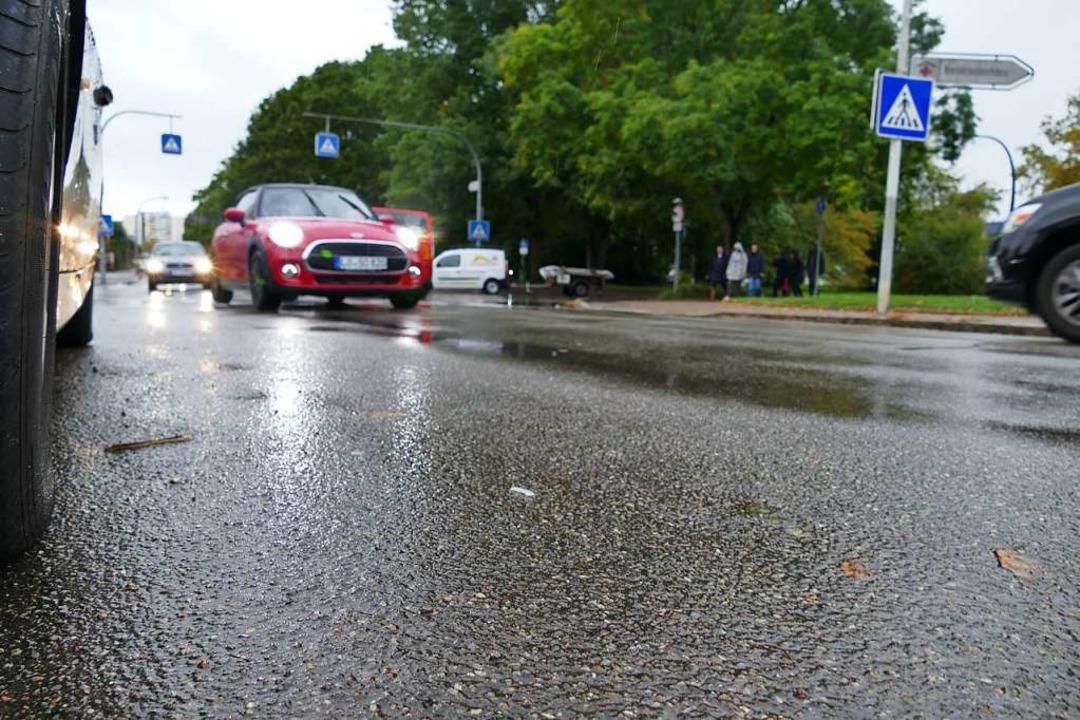Dem Anliegen, die Kreuzung Mussmatt-/H...tigt, hieß es von Seiten der Experten.  | Foto: Ralf H. Dorweiler