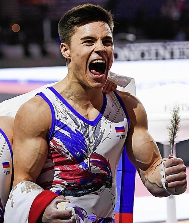 Der Russe Nikita Nagorni    Foto: Tom Weller (dpa)